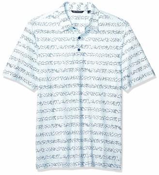 Cutter & Buck Men's Drytec UPF 50+ Lightweight Pike Vine Print Polo Shirt
