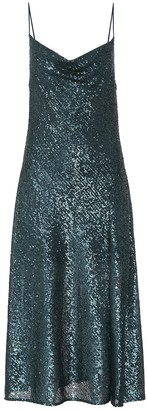 Jonathan Simkhai Sequined midi dress