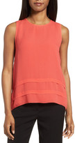 Classiques Entier R) Tiered Silk Jacquard Top