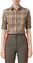 Burberry Luka Vintage Check Stretch Cotton Twill Shirt