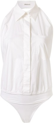 Hermes Pre Owned open back shirt