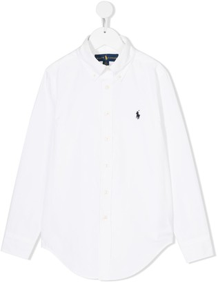 Ralph Lauren Kids Custom Fit Button-Down Shirt