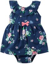 Carter's Baby Girl Floral Bodysuit Dress