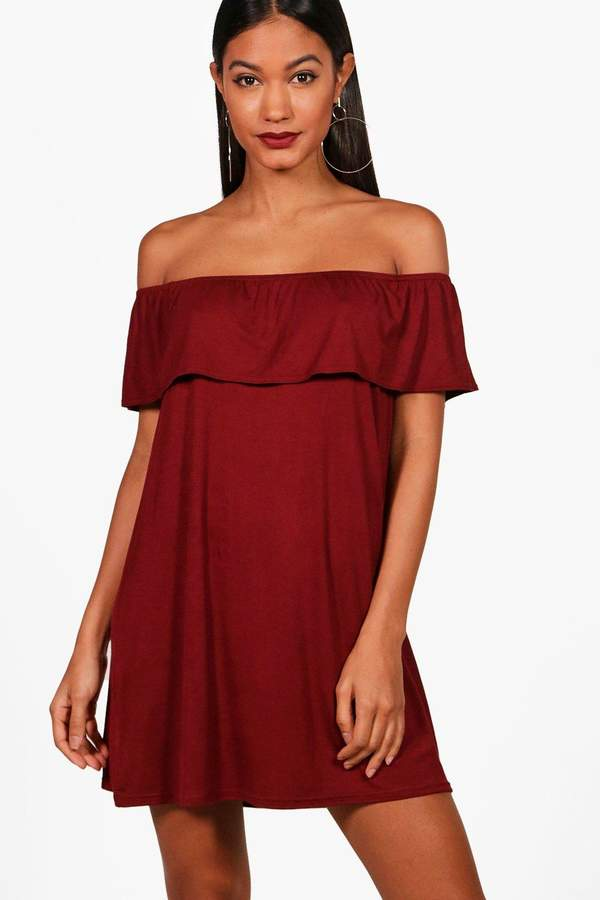 c298f2ad35aa boohoo Red Swing Dresses - ShopStyle Canada