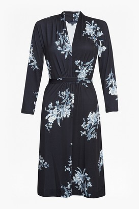 French Connection Laila Slinky Jersey Floral Dress