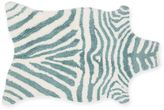 Loloi Rugs Zulu Area Rug in Ivory/Turquoise
