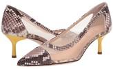 AGL Mistery Pump (Fog Snake w/ Yellow Heel) Women's Shoes