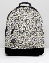 Mi-Pac Daisy Crazy Black Backpack
