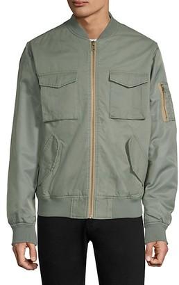 Wesc Contrast Two-Tone Bomber Jacket