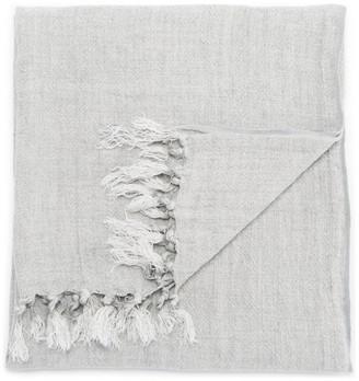 Jaipur Living Lisabet Taupe Solid Throw, 51x67, Mirage Gray