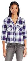 Roxy Juniors Squary Cool Flannel Shirt