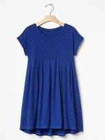 Gap Print babydoll dress