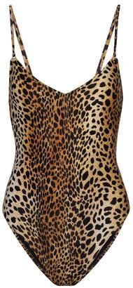 Melissa Odabash Bora Bora cheetah-print swimsuit