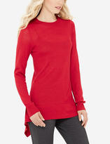 The Limited High-Low Crew Neck Sweater