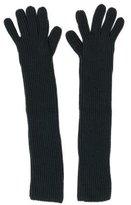 Derek Lam Rib Knit Elbow-Length Gloves