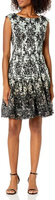 Julian Taylor Women's Chandelier Printed Lace Dress