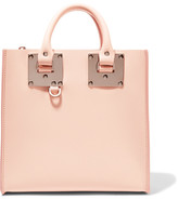 Sophie Hulme Albion Square Leather Tote - Baby pink