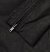 Rick Owens Washed-Leather Jacket