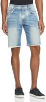 Joe's Jeans Denim Cutoff Straight Fit Shorts in Dunn
