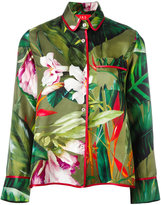 F.R.S For Restless Sleepers - tropical floral print pyjama top - women - Silk - L
