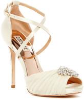 Badgley Mischka Cacique Embellished Heel Sandal