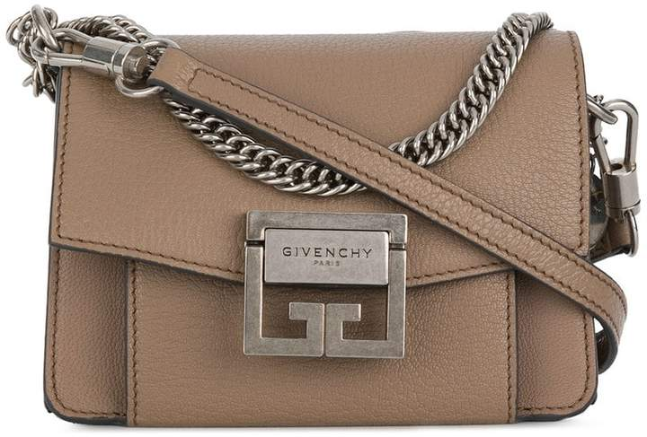 Givenchy foldover chain crossbody bag
