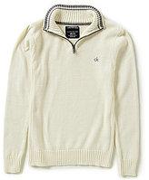 Calvin Klein Big Boys 8-20 1/4-Zip Pullover Sweater