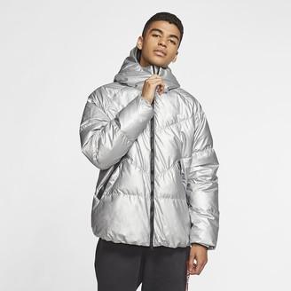 Nike Men's Hooded Puffer Jacket Sportswear Down-Fill
