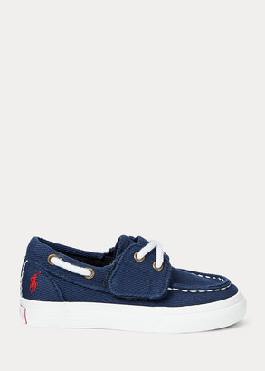 Ralph Lauren Bridgeport Cotton Boat Shoe