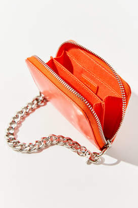 Urban Outfitters Faux Leather Chain Wallet