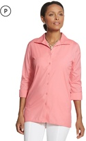 Chico's Effortless Roll-Sleeve Cayla Shirt