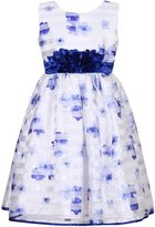 Richie House Girls' Party Princess Dress with Gauze Embroidery RH2612-B