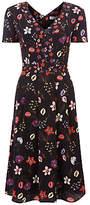 Fenn Wright Manson Petite Antibes Botanical Print Dress, Multi