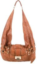 Jimmy Choo Leather Riki Hobo