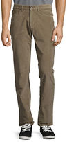 Black Brown 1826 Straight-Leg Corduroy Pants