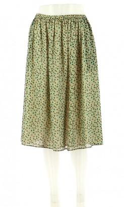 Gerard Darel Green Skirt for Women