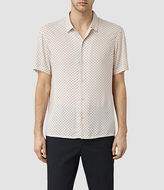 Allsaints Spadille Short Sleeve Shirt