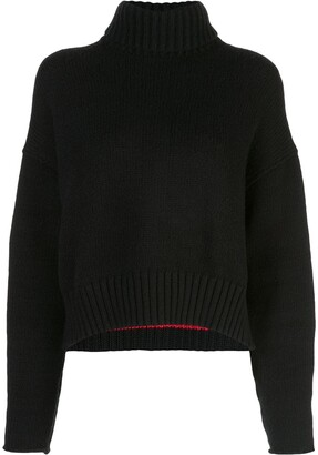 Proenza Schouler Cotton Cashmere Turtleneck Sweater