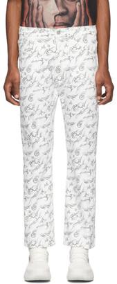 Misbhv White The Tribal Jeans