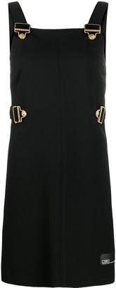 Versace buckle strap mini dress