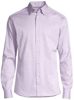 Eton Slim-Fit Jersey Knit Shirt