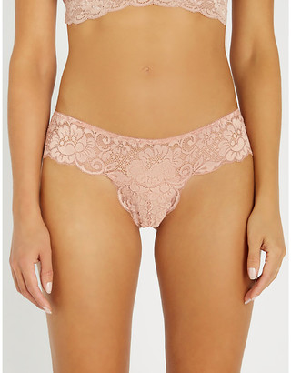 We Are HAH Str8 Laced high-rsie stretch-lace briefs