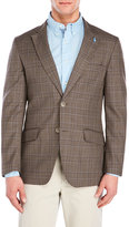 Tailorbyrd Brown Check Wool Sport Coat
