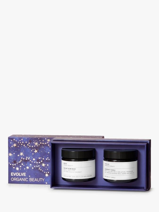 Evolve Organic Beauty Candlelight Glow Skincare Gift Set
