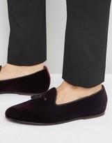 Ted Baker Thrysa Velvet Tassel Loafers