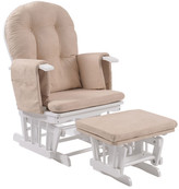 Royal Glider Chair Finish: White