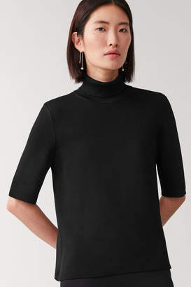 Cos ROLL NECK KNITTED TOP