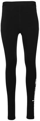Champion Everyday Leggings - Leg Script (Black) Women's Casual Pants