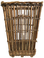 One Kings Lane Vintage French Bread Basket - Ballyhoo - brown