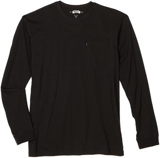 Key Apparel Men's Big-Tall Heavyweight Pocket Tee Full Sleeve